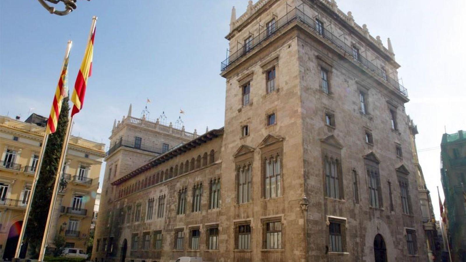 Foto: El Palacio de Benicarló, sede de la Generalitat de Valencia. (EFE)