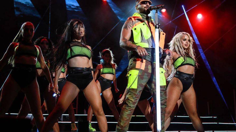 Maluma, en plena actuación. (Foto: Equipo Starlite).