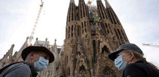 Post de  La Sagrada Familia reanuda su construcción, parada desde hace once meses