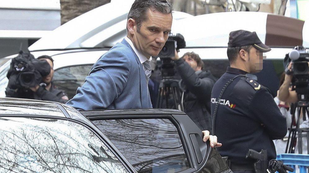 Foto: Urdangarin el día que conoció la sentencia. (EFE)