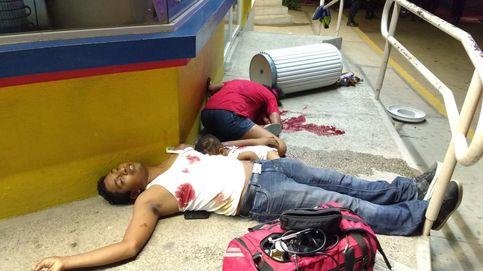 La foto que simboliza la barbarie de los narcos en México
