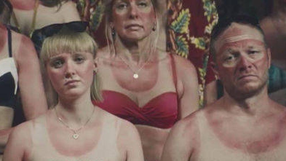Campaña de Dinamarca para frenar el cáncer de piel: Españoles, ayuden a un danés al sol
