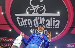 Bouhanni se impone al sprint y firma un triplete en el Giro de Italia