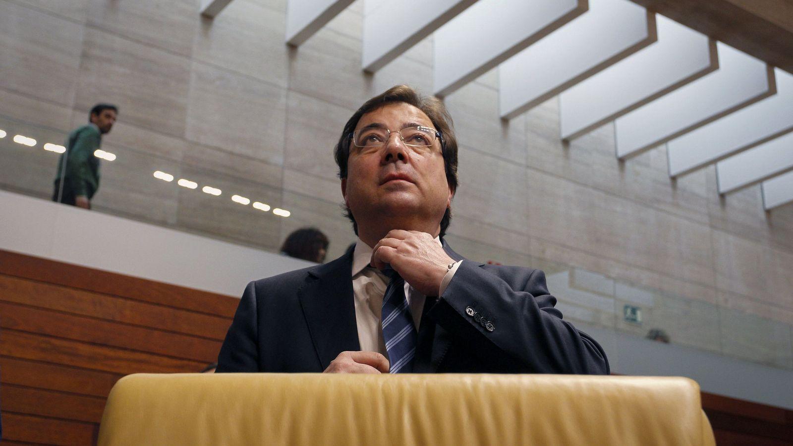 Foto: El presidente de la Junta de Extremadura, Guillermo Fernández Vara.