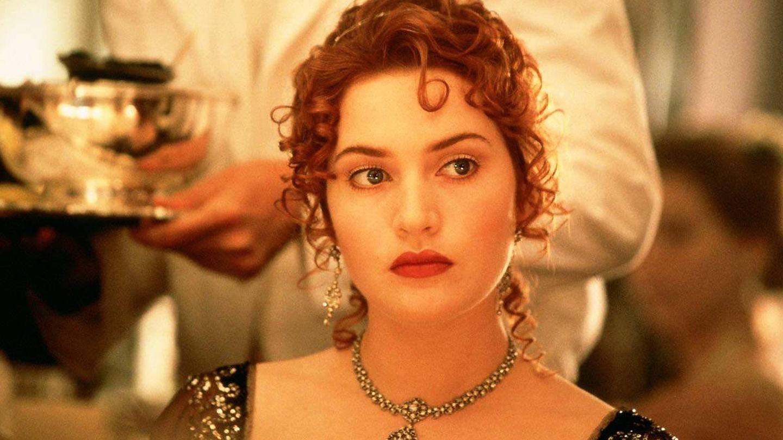 Kate Winslet, en 'Titanic'.