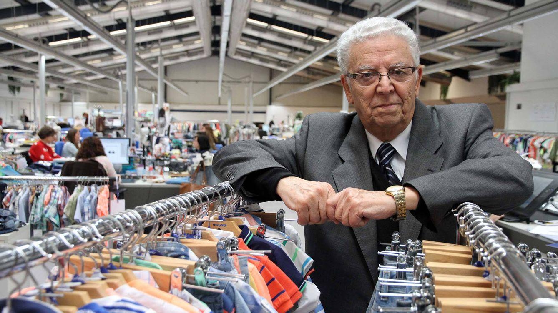 Rafael Domínguez, presidente de Mayoral, da el relevo a sus hijos al cumplir 80 años