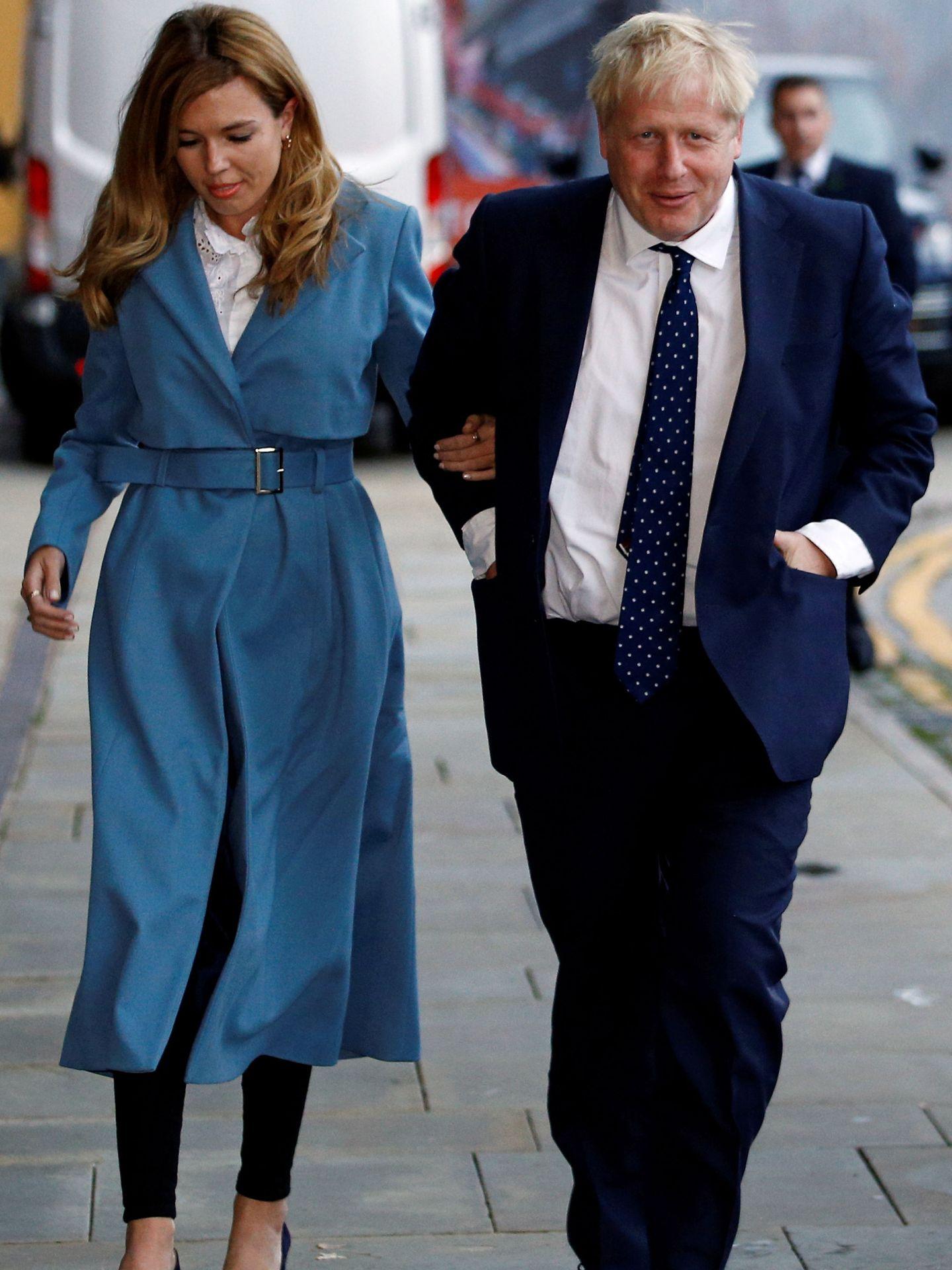 El estilo de Carrie Symonds. (Reuters)