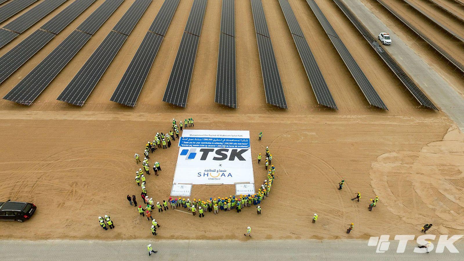 Foto: Detalle de la planta que TSK en Dubai (Fotografía TSK)