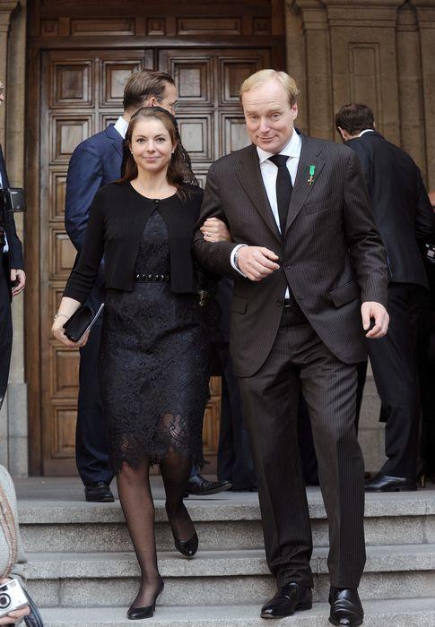 Foto: Carlos Javier de Borbón-Parma y su mujer Ana María en una imagen de archivo (Gtres)