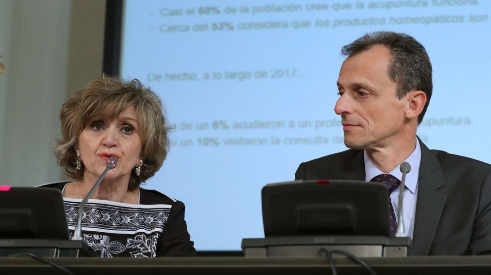 Foto: Presentación del plan para la protección de la salud frente a las pseudoterapias