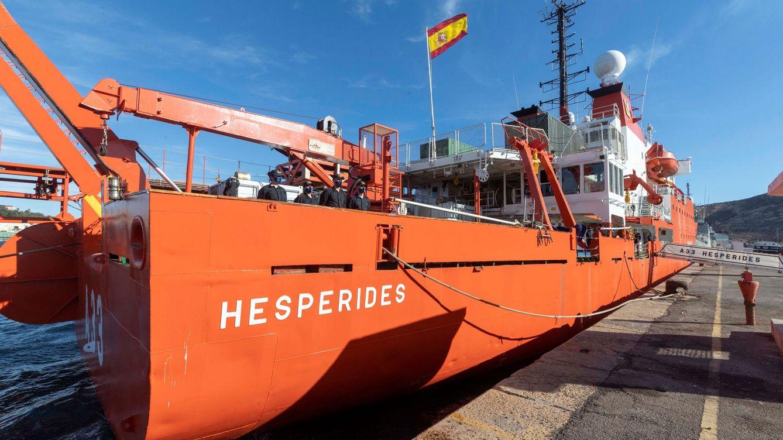 Hespérides cancela su viaje a la Antártida tras detectarse 35 casos entre el personal