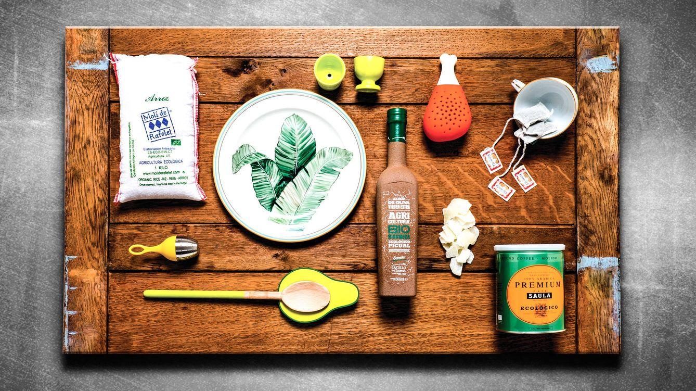 Foto: Arroz y café ecológico, platos pintados a mano o aceites biodinámicos predominan en esta exquisita selección. / GEMA LÓPEZ