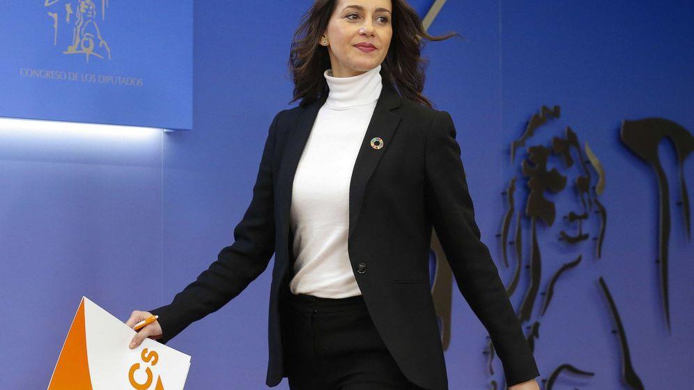 Foto: La portavoz de Ciudadanos en el Congreso, Inés Arrimadas. (EFE)