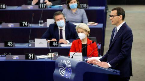 Advertencias y acusaciones de chantaje: cara a cara entre Von der Leyen y el líder polaco