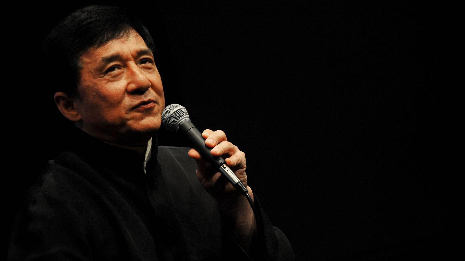 Foto: Jackie Chan, en un festival de cine de Nueva York. (Getty)