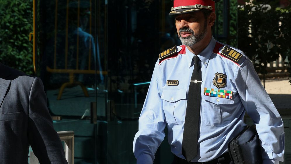 Foto: Josep Lluís Trapero, tras prestar declaración el pasado mes de octubre. (Reuters)