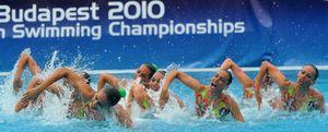 Foto: España completa la natación sincronizada con su cuarta medalla de plata