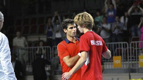 España se hunde en Rusia y luchará por no descender a tercera división del tenis