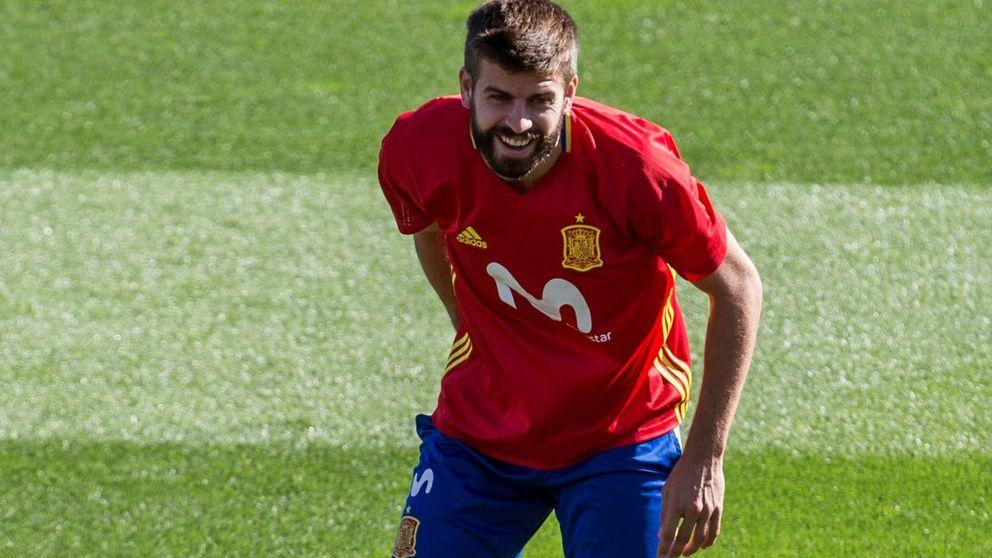 Los insultos a Piqué en el entrenamiento de la selección española