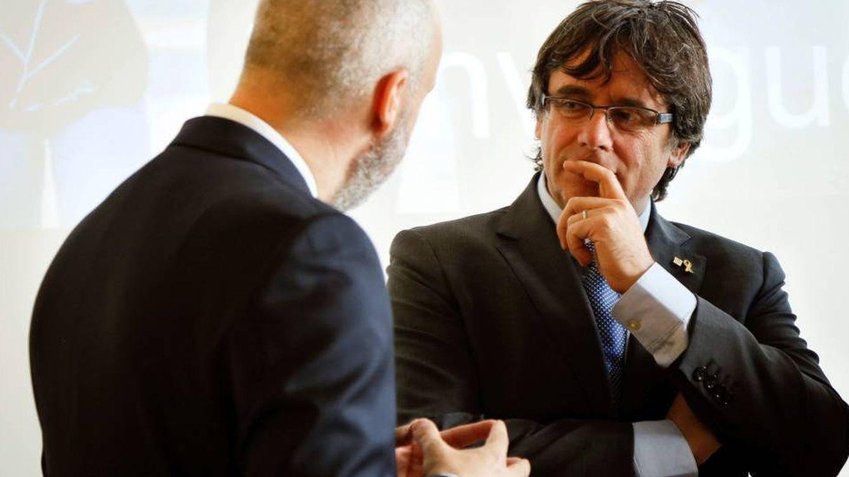 Puigdemont capta fondos a través de la asociación CATGlobal, radicada en Bruselas