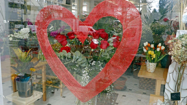 Rosas rojas, el regalo estrella de San Valentín (EFE)