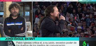 Post de La opinión de Jordi Évole tras la crítica de Pablo Iglesias a los medios
