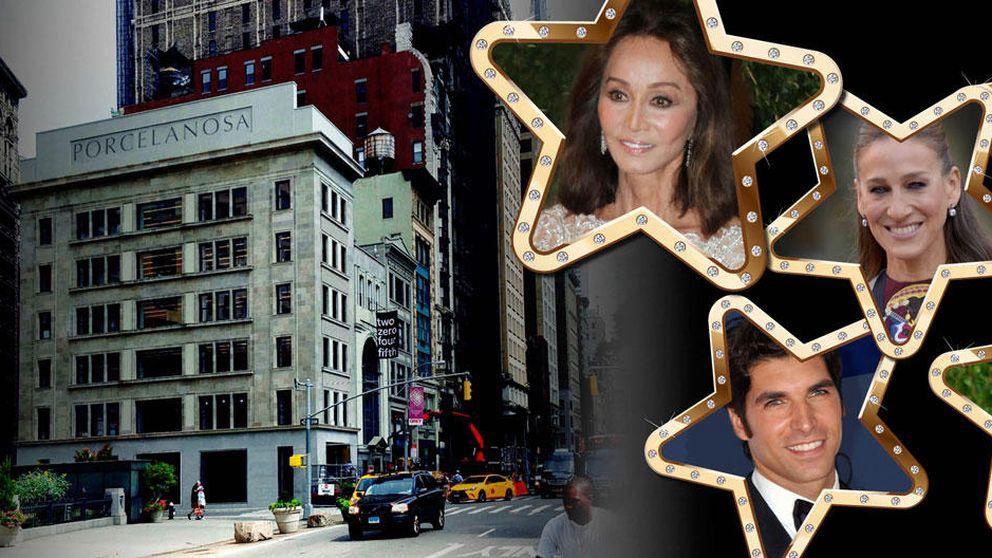Richard Gere, Isabel Preysler… Porcelanosa tira la casa por la ventana en Nueva York