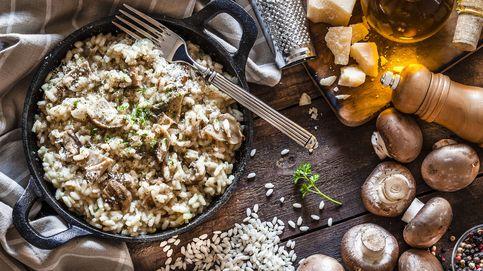 Cómo hacer (sin quemar la cocina) un auténtico risotto de alcachofas y setas