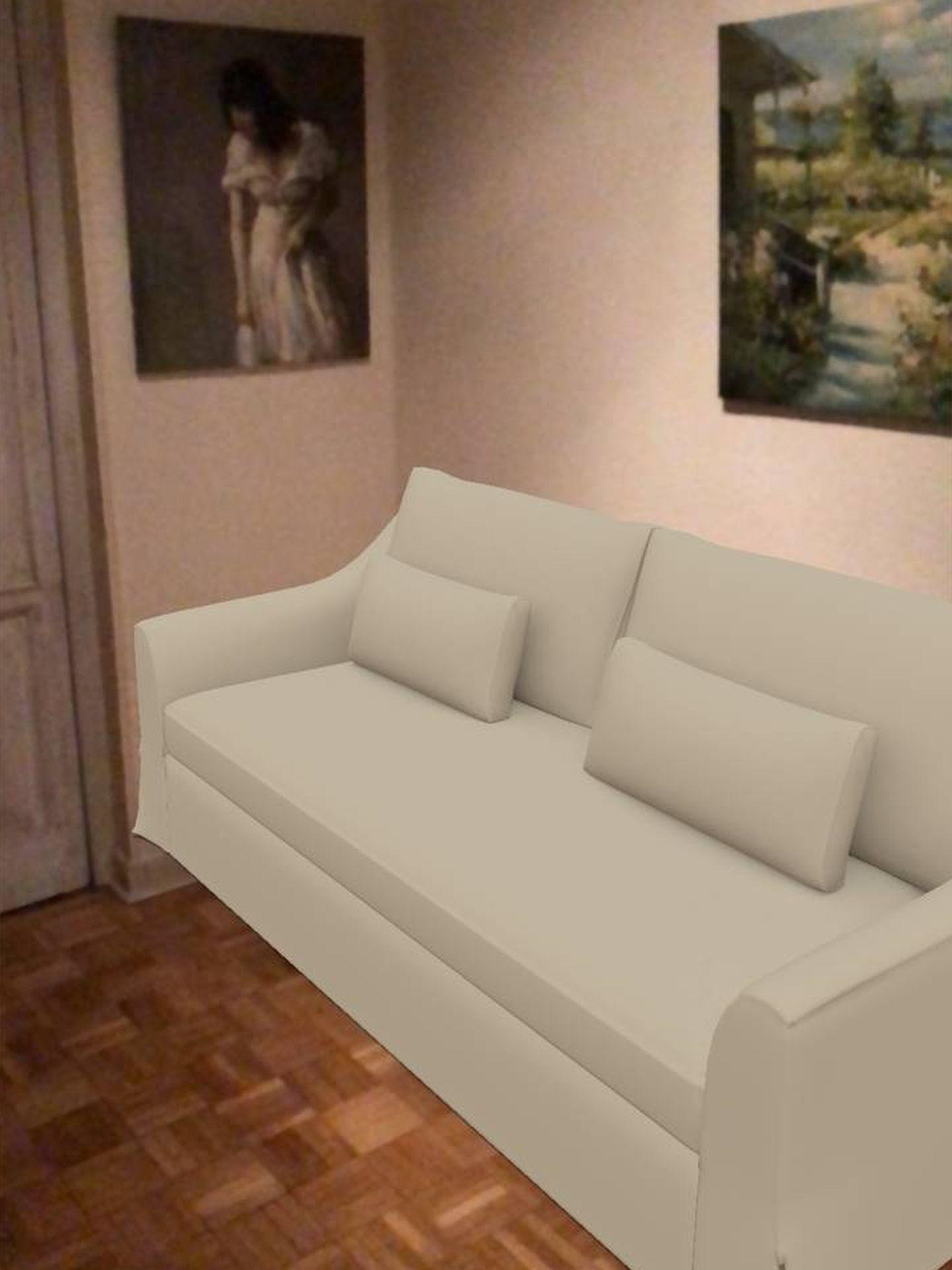 A mi el sofá sólo me entraba en la terraza (M. MC.)
