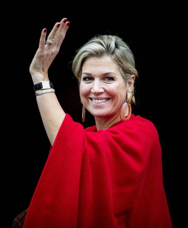 Foto: La reina Máxima, en los premios Erasmus esta semana. (Getty)