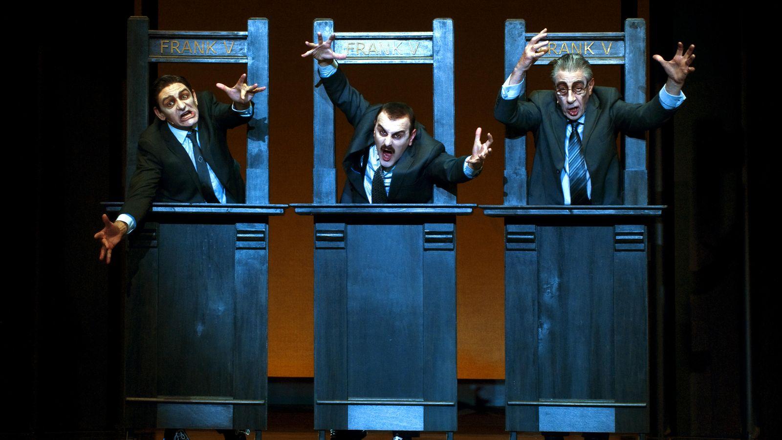 Foto: 'Frank V (Opereta d'una banca privada)' se estrena el 16 de abril en el Lliure (Ros Ribas)