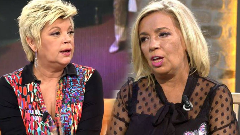 Terelu estalla contra Carmen Borrego: Yo he tenido los cojones de irme de un programa
