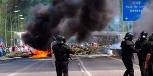 Asturias afronta una durísima semana de conflictos bajo la amenaza de aislamiento