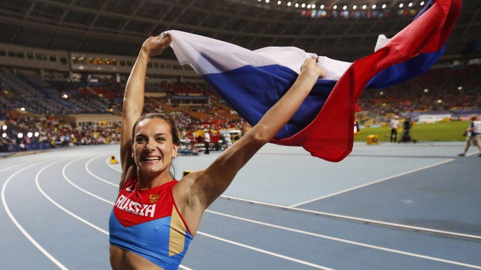 Es más fácil que a Ruth Beitia le den un bronce a que Isinbayeva no esté en Río