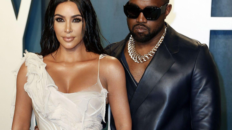 Kim Kardashian y Kanye West, en una imagen de archivo. (EFE)