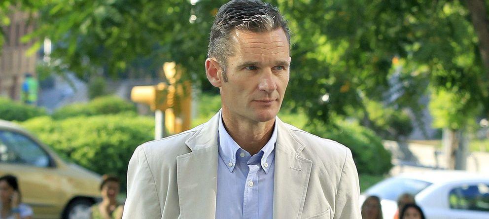 Foto: El marido de la infanta Cristina, Iñaki Urdangarin (EFE)