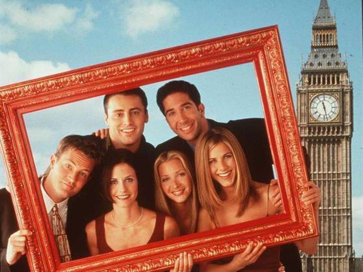 Foto:  Una foto promocional de 'Friends'. (Getty)