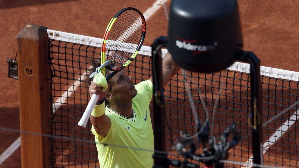 Rafa Nadal y su queja contra las cámaras en Roland Garros: Casi me abren la cabeza