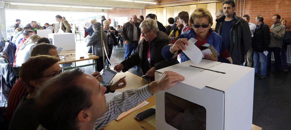 Foto: Centro de votación en Vilassar de Dalt, cerca de Barcelona. (Reuters)