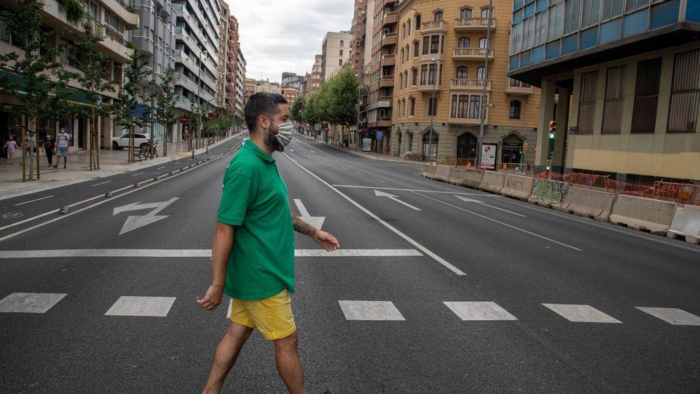 Foto: El Govern anunció un confinamiento en Lleida. (EFE)