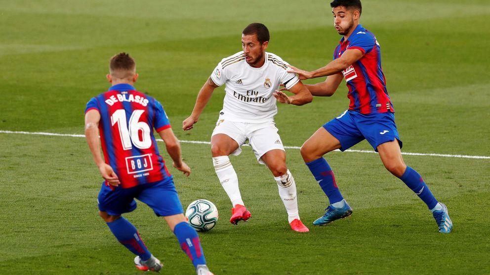 Eden Hazard vence el miedo de la lesión y en el Real Madrid superan los temores
