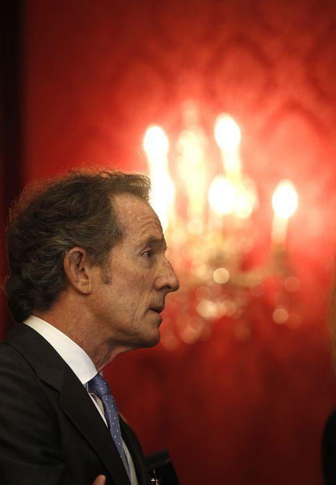 Foto: Alfonso Díez, en una imagen de la firma Porcelanosa (Gtres)