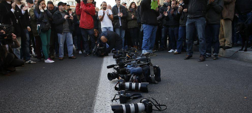 Foto: La libertad de prensa en España alcanza su nivel más bajo durante la democracia
