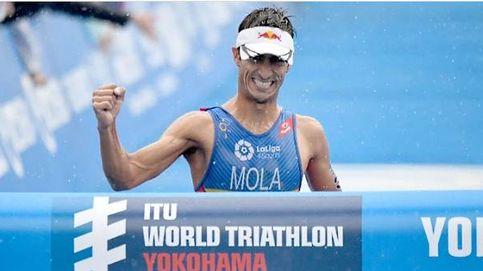 Mario Mola gana en Yokohama y es el nuevo líder del Mundial de triatlón