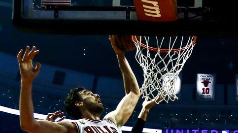 Gasol y Mirotic siguen de dulce para dar la victoria a los Bulls del 'ciego' Rose