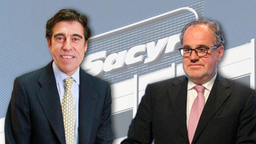 Foto: El presidente de Sacyr, Manuel Manrique (i), y Demetrio Carceller. (EC)