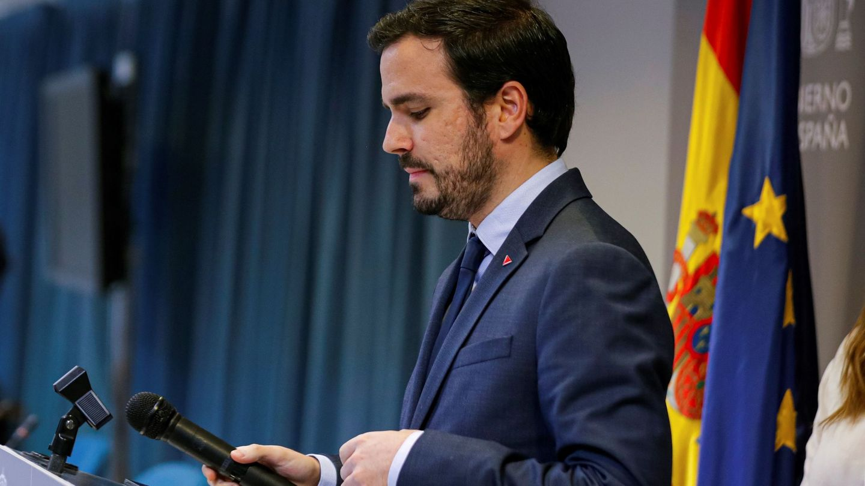 El titular de Consumo, Alberto Garzón. (EFE)