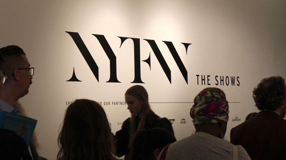 Foto: Semana de la Moda de Nueva York. (EFE)