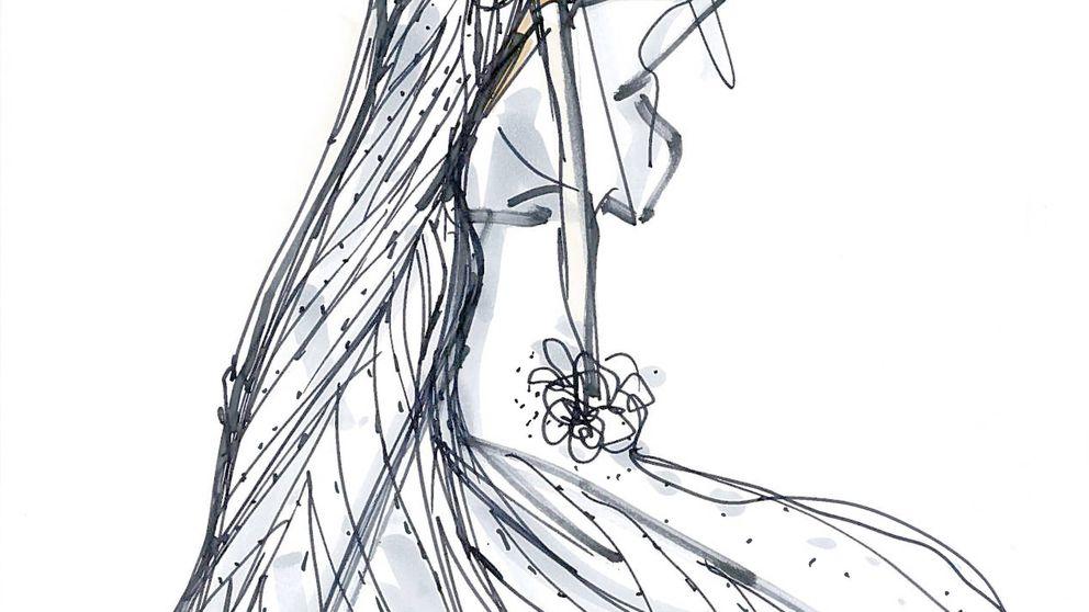 El diseñador, el estilo... Así fue el otro vestido de novia de Marta Ortega