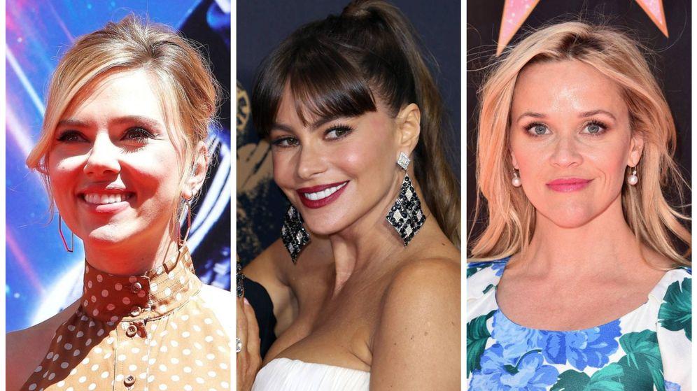 Foto: Las actrices mejor pagadas de 2019 según Forbes. (El Confidencial)